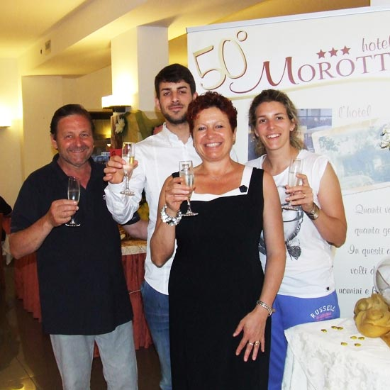 50 years at the Hotel Morotti
